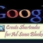 Shortcodes for Google Ad Units In Wordpress