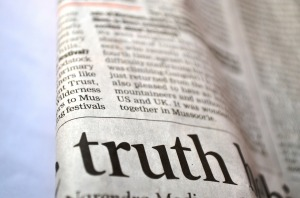 Stop Messages Find Truth in News Feeds