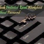 Unlock Protected Excel Sheet - Unprotect - Crack Protected sheet with VBA Macro
